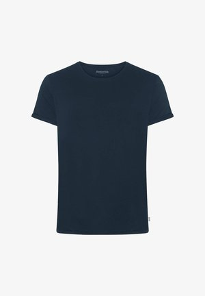JIMMY SOLID - T-shirt basic - marineblue