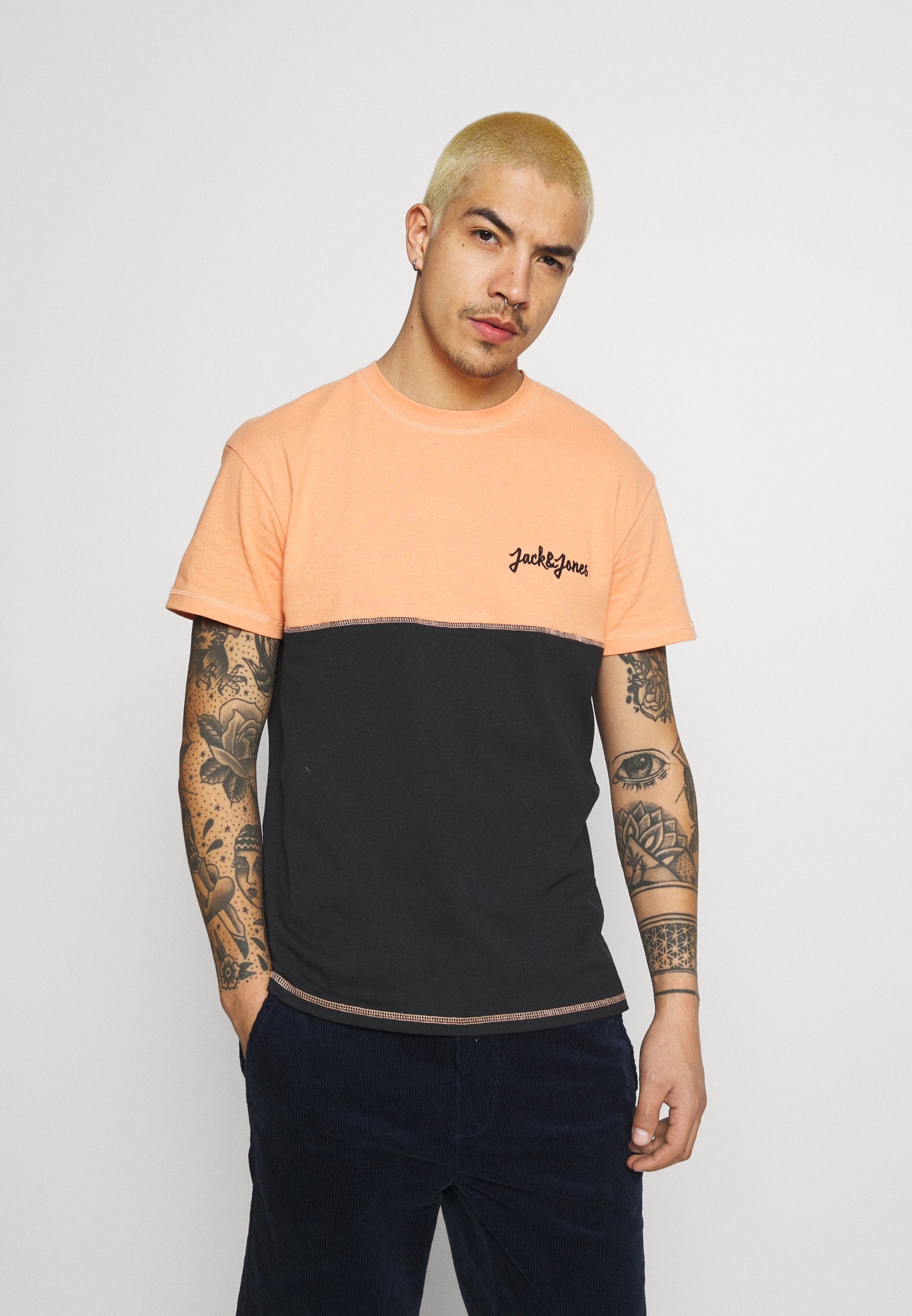 Men JORAIDENS TEE CREW NECK - Print T-shirt