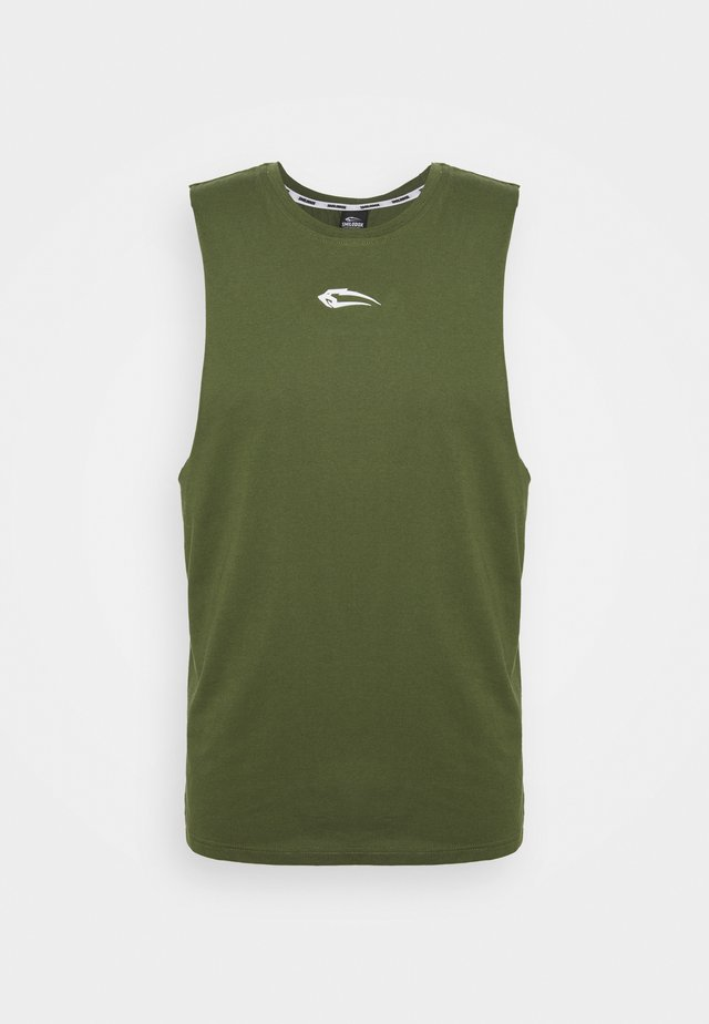 TANK CUT - Top - khaki