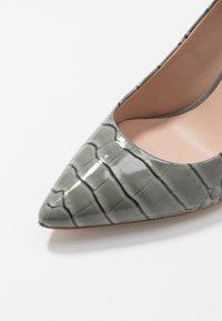 Kurt Geiger London - BRITTON - High heels - grey/light - 2