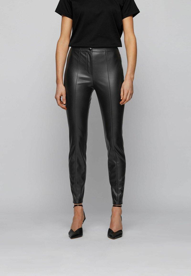 BOSS - C_TRATONA - Trousers - black