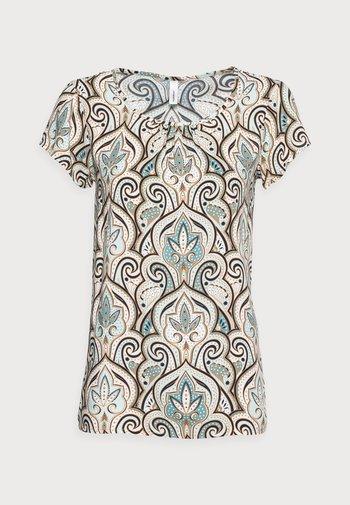 PARY - Print T-shirt - aqua combi