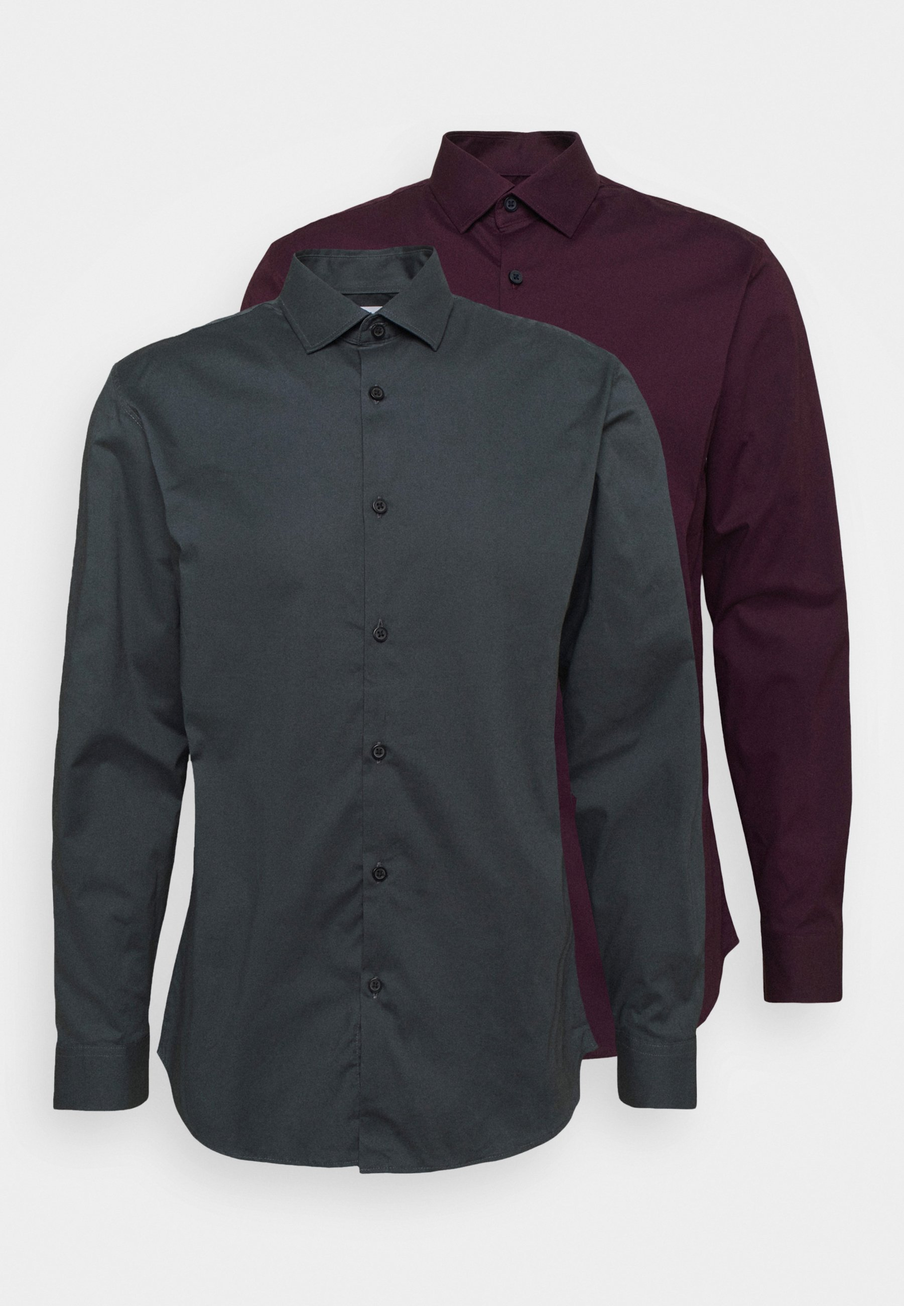 Homme SLHSLIMBROOKLYN SHIRT 2 PACK - Chemise classique