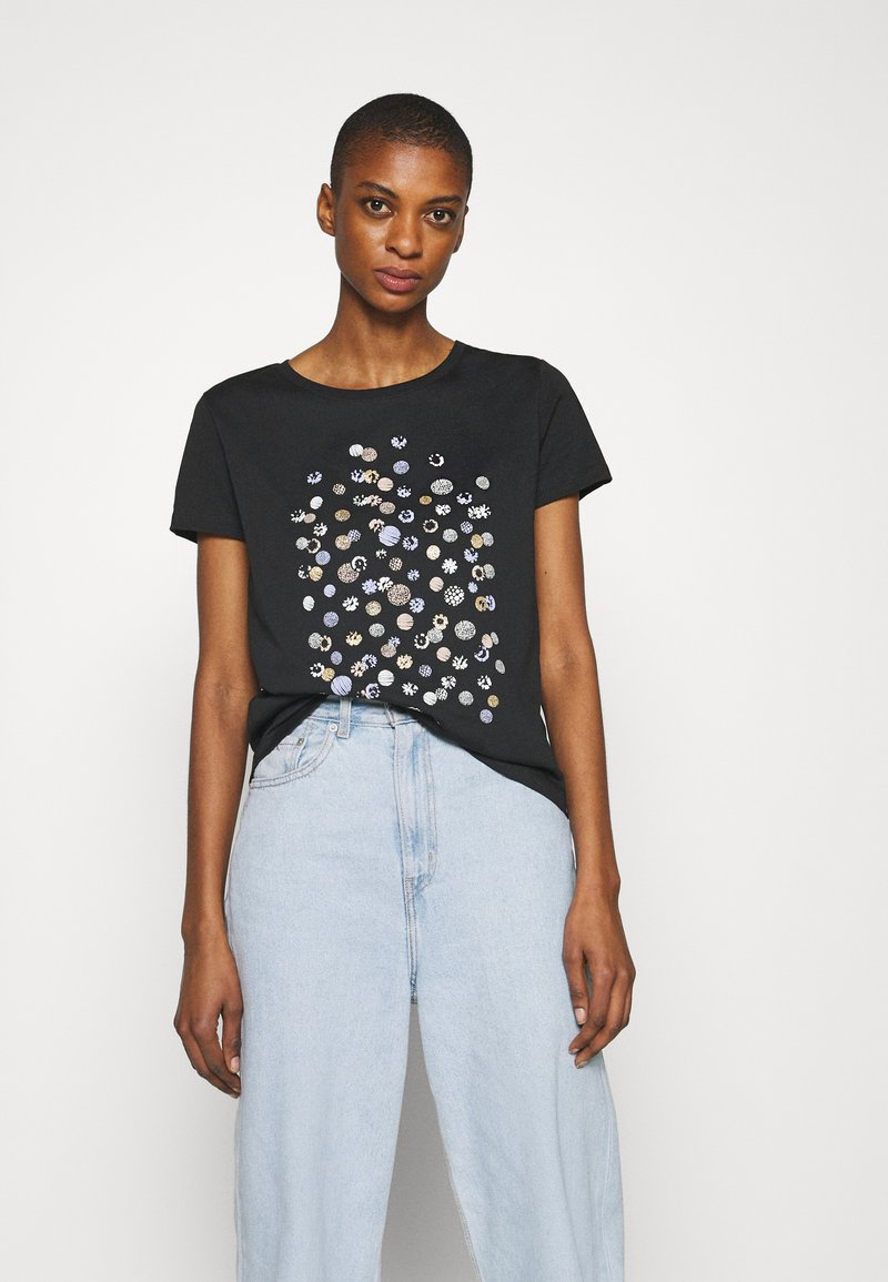 Anna Field - Print T-shirt - black