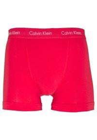 Calvin Klein Underwear - TRUNK 3 PACK - Pants - red/blue - 7