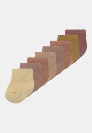 POINTELLE SOCKS 6 PACK  UNISEX - Sokken - sahara shades