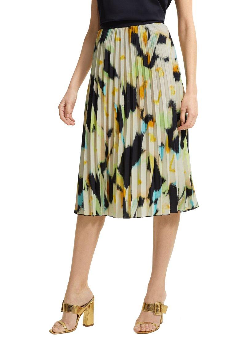 comma - Pleated skirt - blue