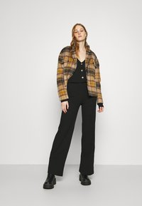 Nly by Nelly - BUTTON CARDIGAN SET - Cardigan - black - 1