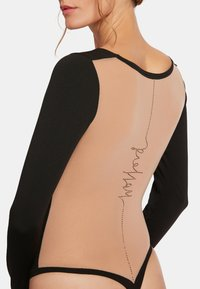 Wolford - Long sleeved top - fairly light  black  hematite - 2