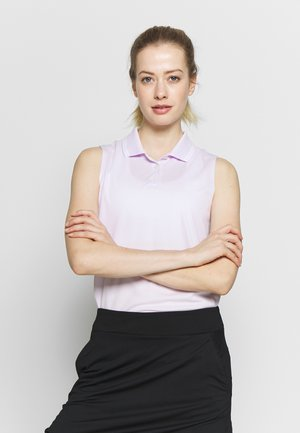 DRY VICTORY - Sports shirt - barely grape/white