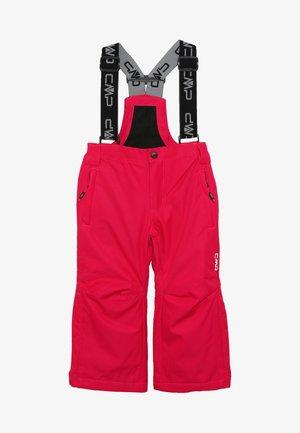 SKI SALOPETTE - Spodnie narciarskie - rhodamine