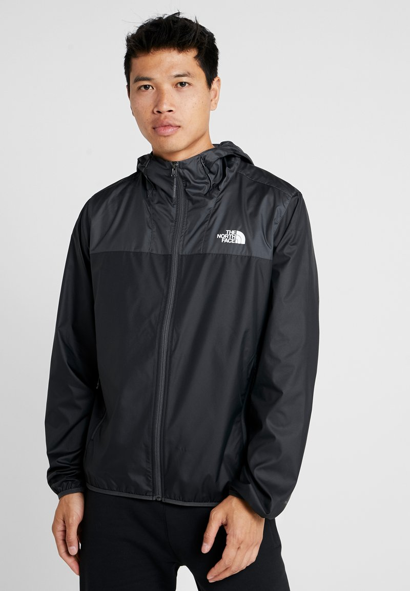 The North Face - MENS CYCLONE 2.0 HOODIE - Impermeable - black/asphalt grey