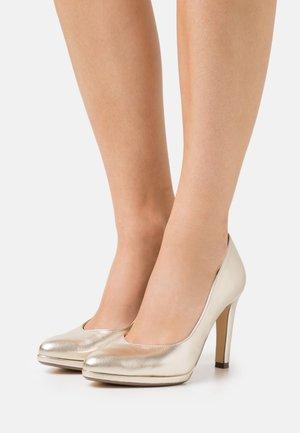 HERDI - Classic heels - platin corfu
