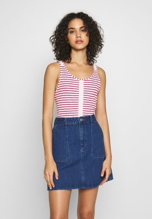 Top - cerise zoupla horizontal
