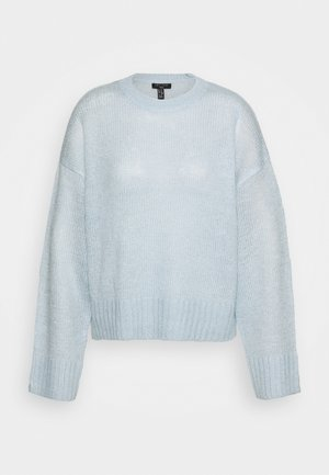 LEAD IN JUMPER - Jersey de punto - light blue
