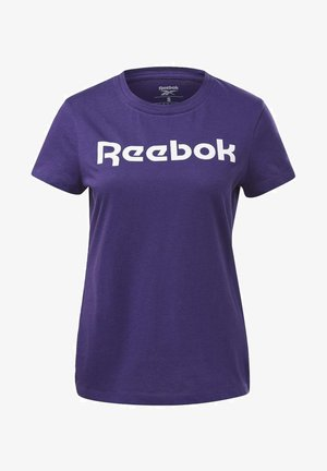 ESSENTIALS TRAINING SHORT SLEEVE GRAPHIC - Print T-shirt - purple