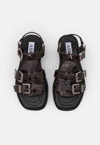 ASRA - SPECTOR - Sandals - mocha - 5
