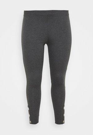PONTE POPPER - Leggings - Trousers - grey
