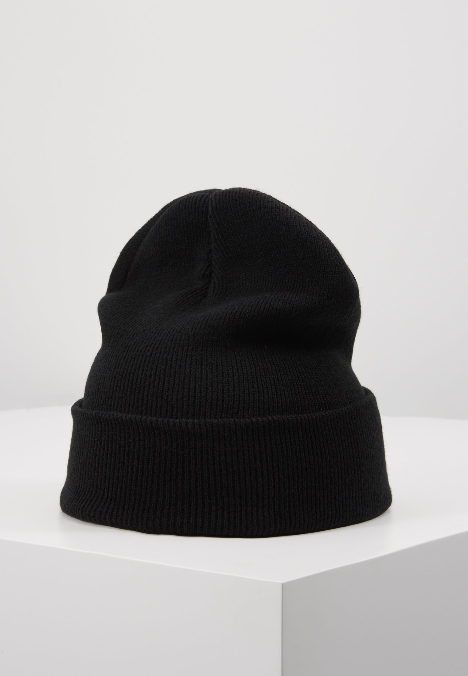 Fiorucci BEANIE WITH EMBROIDERED LOGO - Lue - black/svart rVk18lhC8E5nqzC