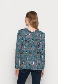 MAMALICIOUS - NURSING - Bluzka z długim rękawem - mallard blue - 2