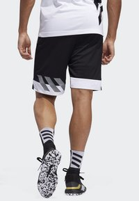 adidas Performance - CREATOR 365 SHORTS - Sports shorts - black - 2