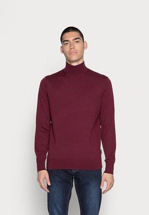 SUPERIOR MOCK - Stickad tröja - tawny port
