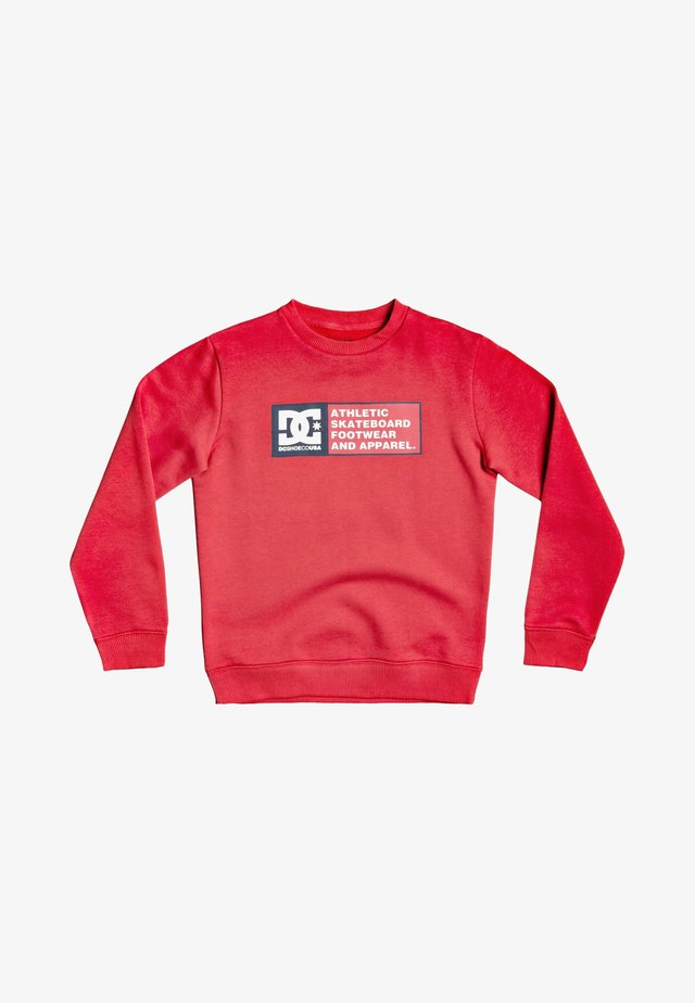 Sweater - racing red