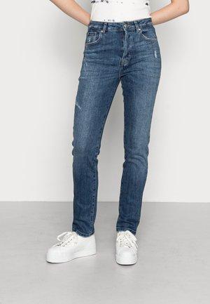 ONLSCARLETT LIFE - Straight leg jeans - medium blue denim