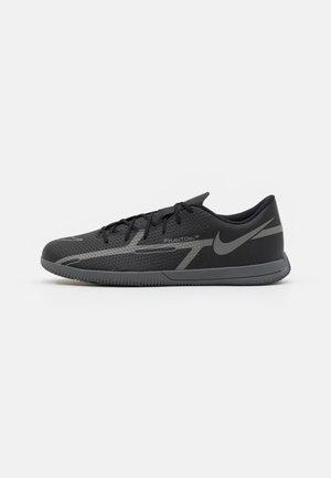PHANTOM GT2 CLUB IC - Chaussures de foot en salle - black/iron grey/metallic bomber gry