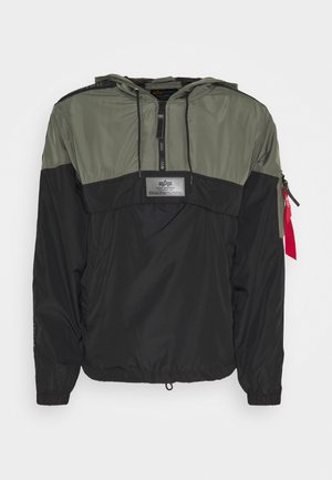 TAPE ANORAK - Windbreaker - vintage green