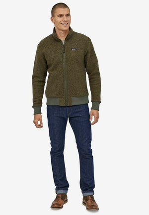 Fleece jacket - industriel green
