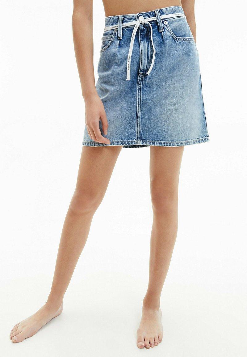 Calvin Klein Jeans - A-line skirt - denim light