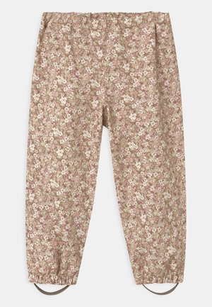 OUTDOOR ROBIN UNISEX - Rain trousers - rose
