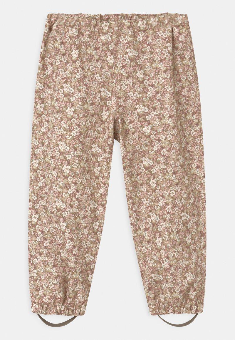 Wheat - OUTDOOR ROBIN UNISEX - Rain trousers - rose