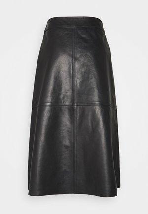 ELOISE - A-line skirt - black