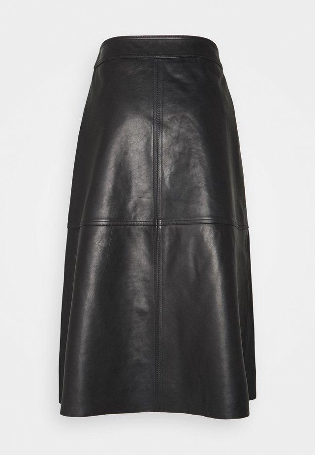 ELOISE - Áčková sukně - black