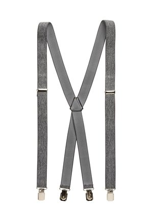GREY MARL BRACES - Belt business - grey