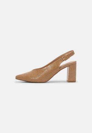 CAITIEE - Classic heels - nude