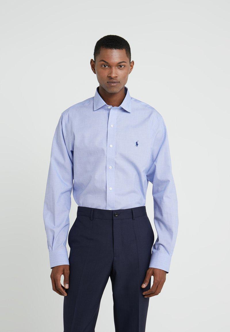 Polo Ralph Lauren - EASYCARE ICONS - Kauluspaita - light blue/white