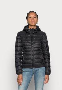 ONLY - ONLTAHOE HOOD JACKET  - Light jacket - black - 0