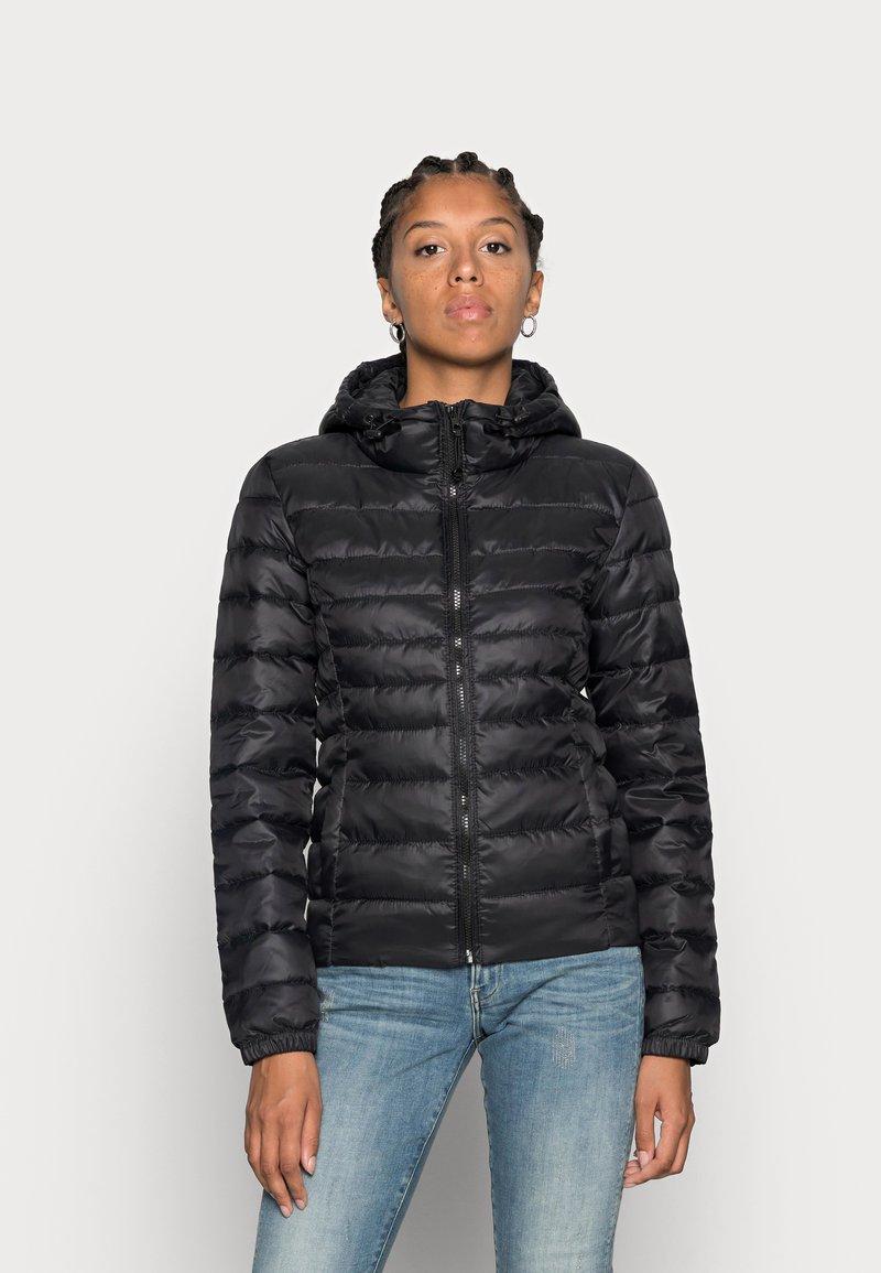 ONLY - ONLTAHOE HOOD JACKET  - Light jacket - black