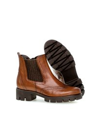 Gabor - Platform ankle boots - bolia nappa new whiskey - 2