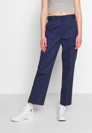 ELIZAVILLE - Trousers - navy