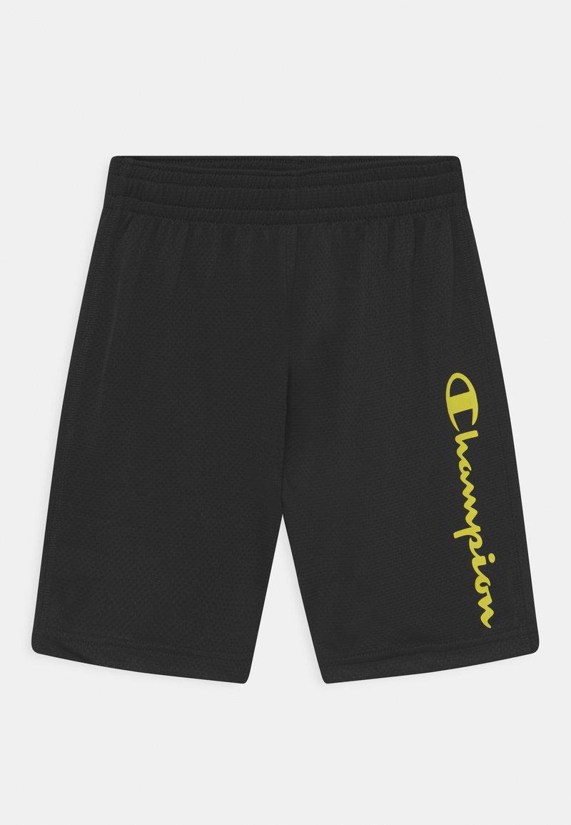 Champion - PERFORMANCE UNISEX - Sports shorts - black