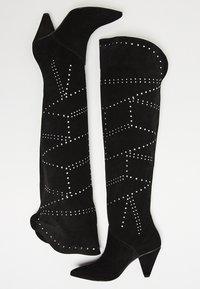 faina - Over-the-knee boots - black - 2