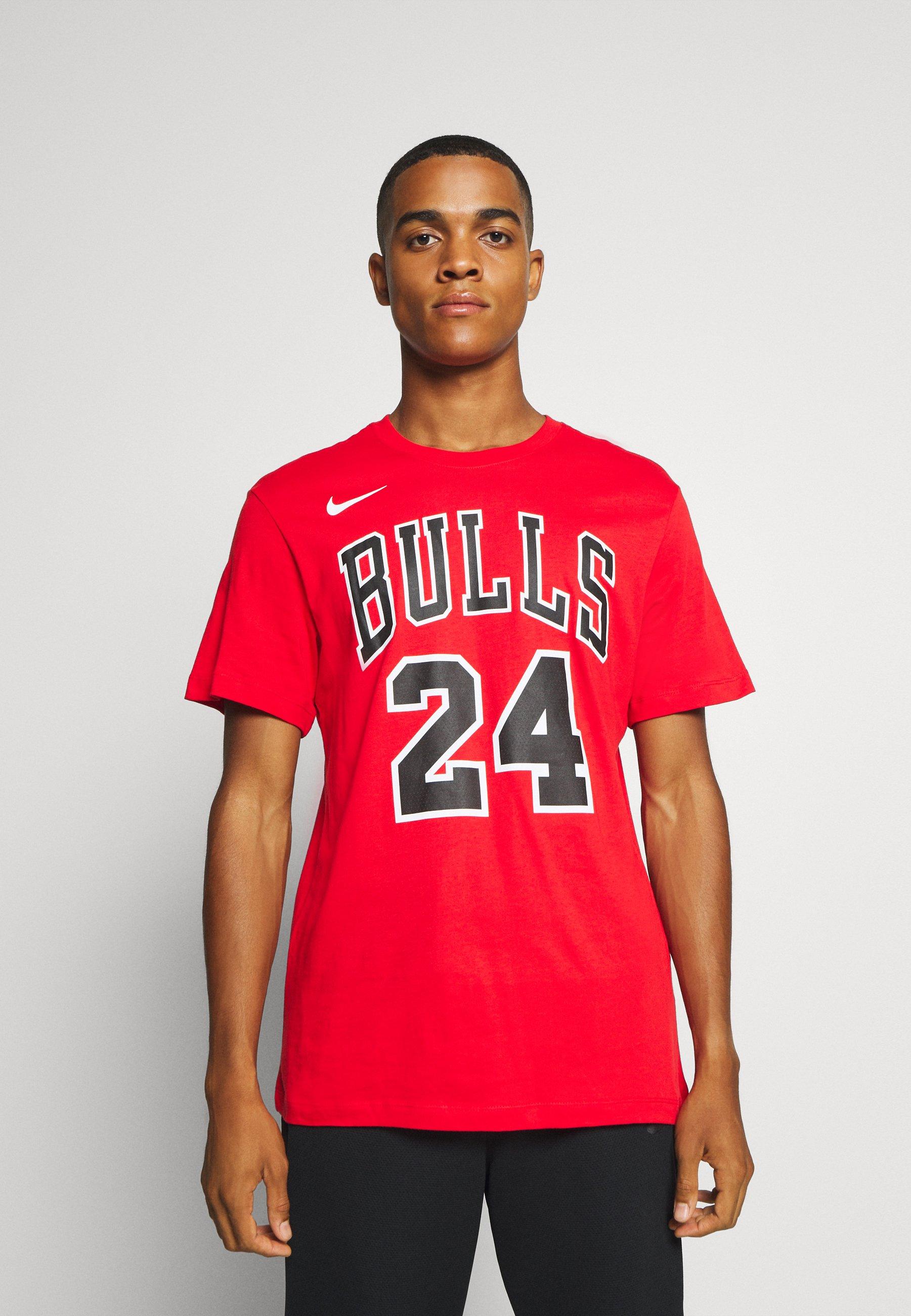 Nike Performance NBA CHICAGO BULLS LAURI MARKKANEN NAME AND