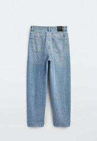 Massimo Dutti - Straight leg jeans - dark blue - 1