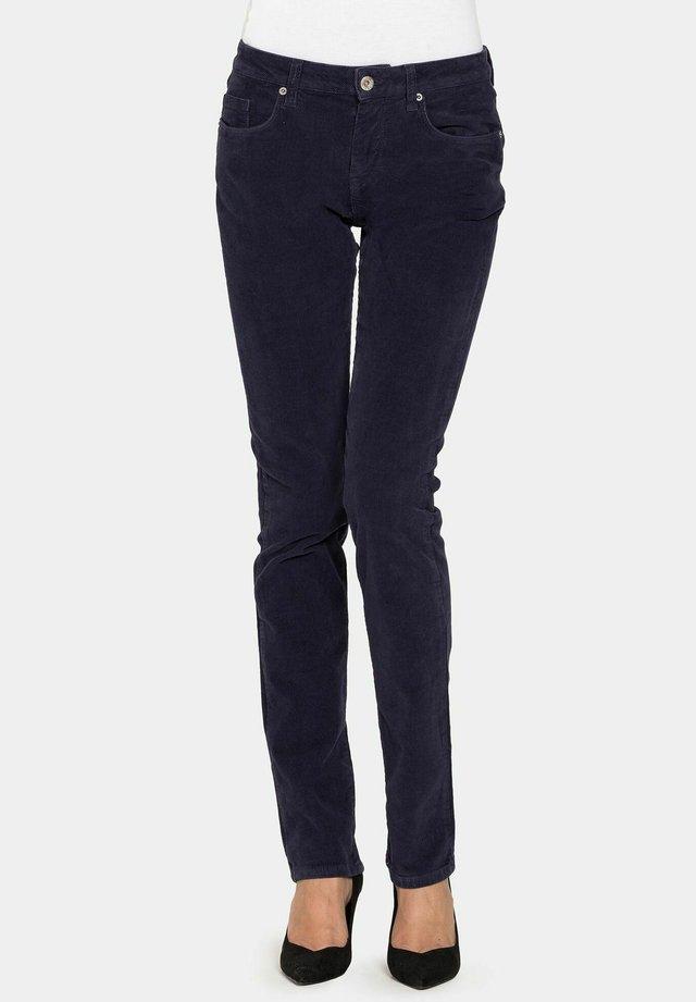Jeans a sigaretta - blu scuro