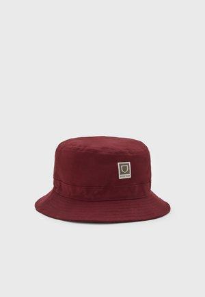 BETA BUCKET UNISEX - Hat - dark brick