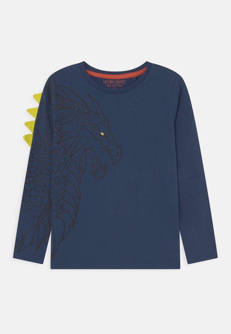 Lemon Beret - SMALL BOYS - Long sleeved top - insignia blue